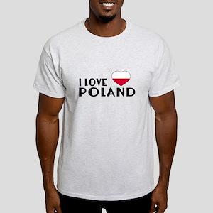 I Love Poland Light T-Shirt