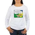 Agility Corgi Cartoon Women's Long Sleeve T-Shirt