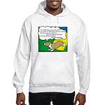 Agility Corgi Cartoon Hooded Sweatshirt