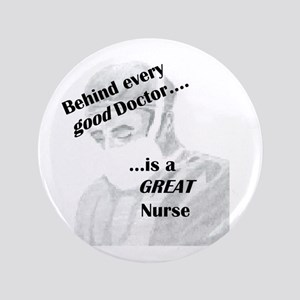 "Great Nurse 3.5"" Button"