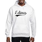 Vintage Edina (Black) Hooded Sweatshirt