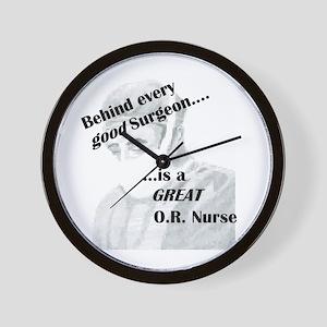 Great O.R. Nurse Wall Clock
