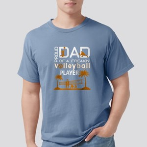 Proud Dad Of A Freaking Volleyball Player T-Shirt