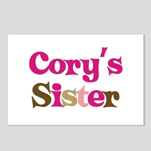 Cory's Sister Postcards (Package of 8)