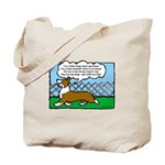 Conformation Corgi Cartoon Tote Bag
