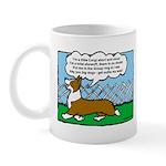 Conformation Corgi Cartoon Mug