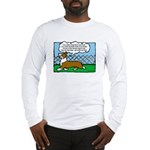 Conformation Corgi Cartoon Long Sleeve T-Shirt