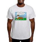 Conformation Corgi Cartoon Light T-Shirt