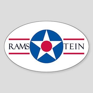 Ramstein Air Base Oval Sticker