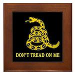 Don't Tread on Me Framed Tile