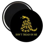 """Don't Tread on Me 2.25"""" Magnet (10 pack)"""