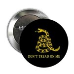 """Don't Tread on Me 2.25"""" Button"""