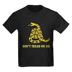 Don't Tread on Me Kids Dark T-Shirt