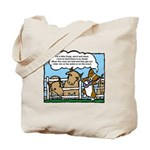 Herding Corgi Cartoon Tote Bag