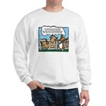 Herding Corgi Cartoon Sweatshirt