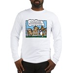 Herding Corgi Cartoon Long Sleeve T-Shirt