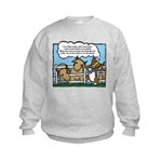 Herding Corgi Cartoon Kids Sweatshirt