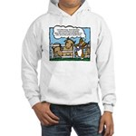 Herding Corgi Cartoon Hooded Sweatshirt