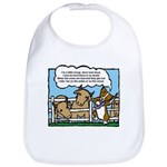 Herding Corgi Cartoon Bib