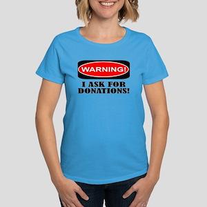 donations Women's Dark T-Shirt