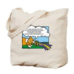Obedience Corgi Cartoon Tote Bag