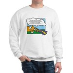 Obedience Corgi Cartoon Sweatshirt