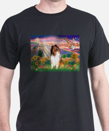 Autumn Angel / Collie (s) T-Shirt