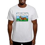 Tracking Corgi Cartoon Light T-Shirt