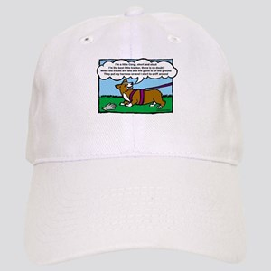 Tracking Corgi Cartoon Cap