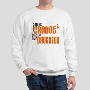 I Wear Orange For My Daughter 6 Sweatshirt