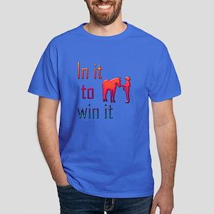 In it to win it - halter Dark T-Shirt
