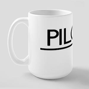 Pilot Joke Large Mug