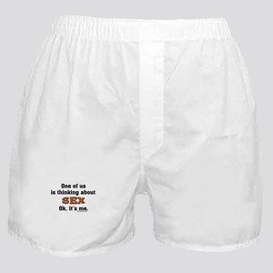 Thinking about sex... Boxer Shorts