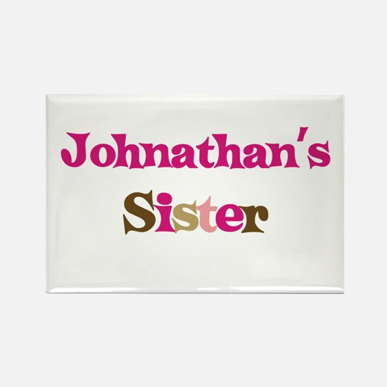 Johnathan's Sister Rectangle Magnet