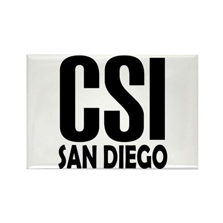 CSI San Diego Rectangle Magnet (10 pack)