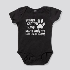 I Have Plans With My Polish Lowland Baby Bodysuit