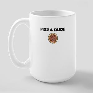 Pizza Dude Large Mug