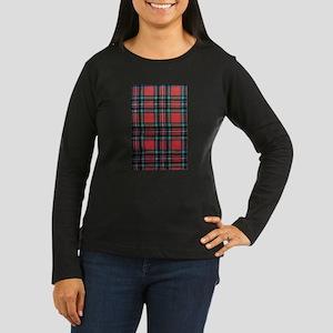 Tartan Pride Women's Long Sleeve Dark T-Shirt