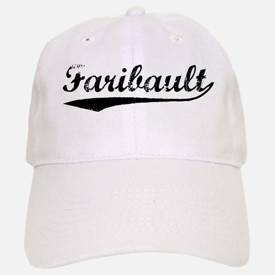 Vintage Faribault (Black) Baseball Baseball Cap