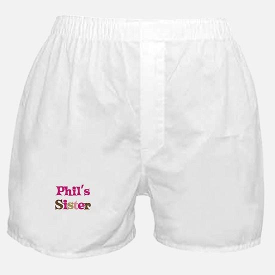 Phil's Sister Boxer Shorts
