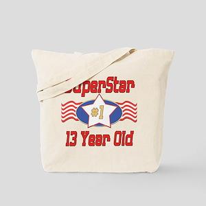 Superstar at 13 Tote Bag