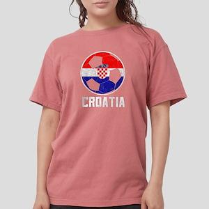 Croatian Football Flag Of Croatia Soccer B T-Shirt