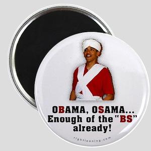 Obama Osama Cut the BS Magnet