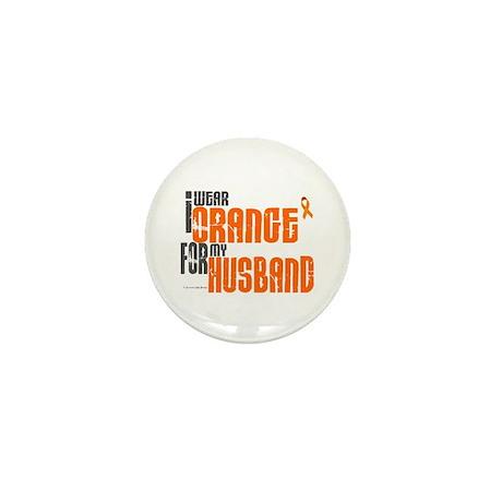 I Wear Orange For My Husband 6 Mini Button