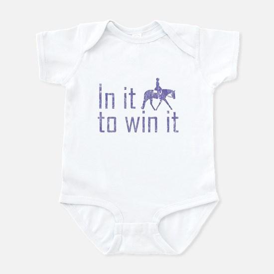 In it to win it side hunter Infant Bodysuit