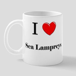 I Love Sea Lampreys Mug