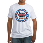 Obama Censored Fitted T-Shirt