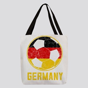 German Football Flag Of Germany Polyester Tote Bag