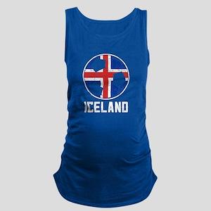 Icelandic Football Flag Of Iceland Soccer Tank Top