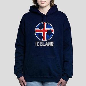 Icelandic Football Flag Of Iceland Socc Sweatshirt